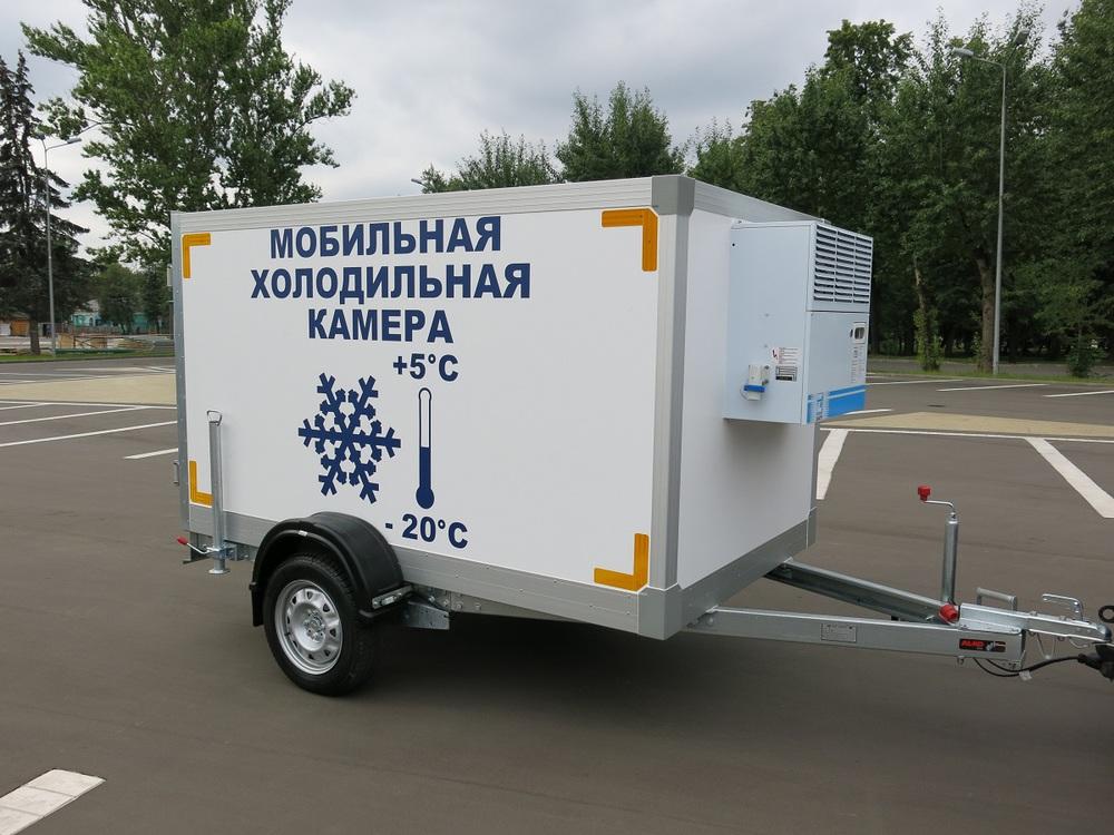 Прицеп холодильная камера Исток (3791Т2, без оборудования), 2.5х1.6х1.6